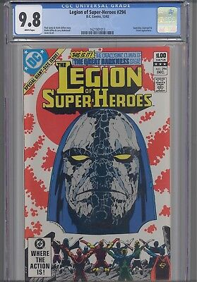 Legion of Super Heroes #294  CGC 9.8 1982 DC:  Orion Cover: New Frame