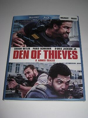 Den of Thieves /Blu ray Slip Cover Only / No Disc
