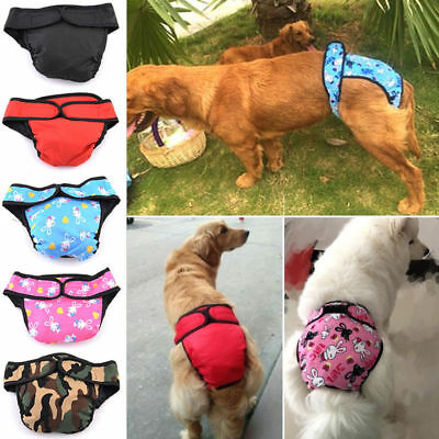 Large Female Dog Puppy Pet Diaper Pants Physiological Sanitary Panty Underwear
