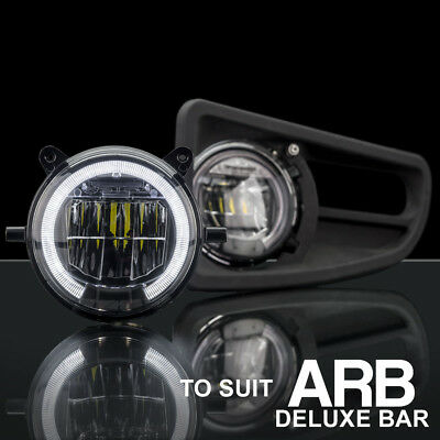 ARB Deluxe Bullbar LED Fog Light with DRL Upgrade Kit