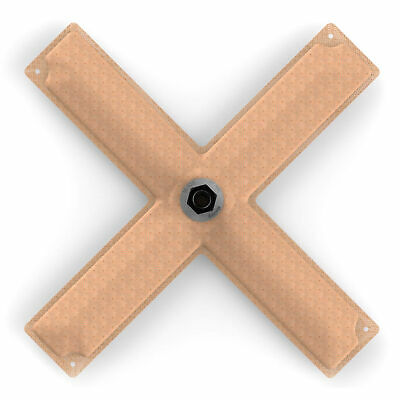 """Holley Hydramat Fuel Tank Pickup Option 1 / 15x15x2.5"""" Cross 3/8"""" Centre Outlet"""