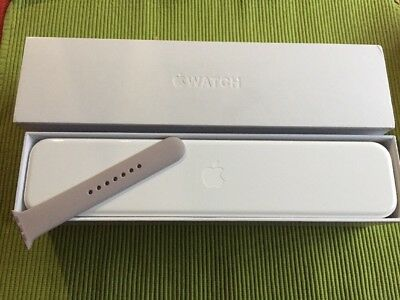 Apple Watch Case and Box Only Clean White with Extra