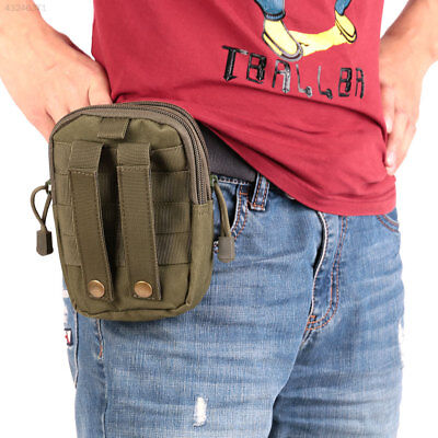 Sport Tactical Military Molle Waist Pack Bag Camping Hiking Pouch Phone Holder