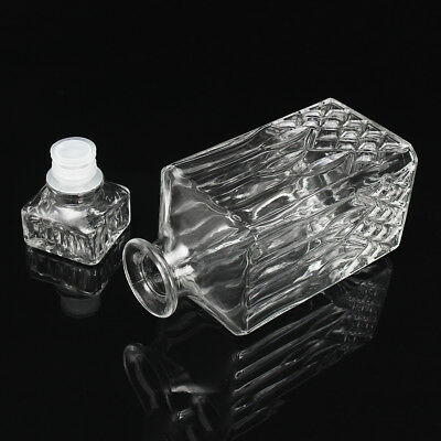 900ml Scotch Vintage Decanter Glass Liquor Whiskey Crystal Bottle With Stopper