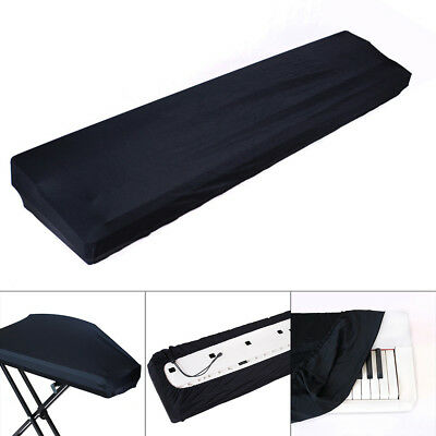 Electric Piano Keyboard Cover Dustproof Elastic Adjustable For 61 73 76 88 Key