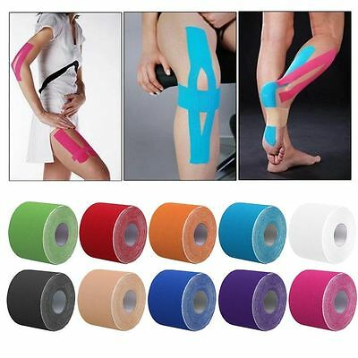Sports Kinesiology Tape Elastic Physio Muscle Tape PRO Pain Relief Support UK*