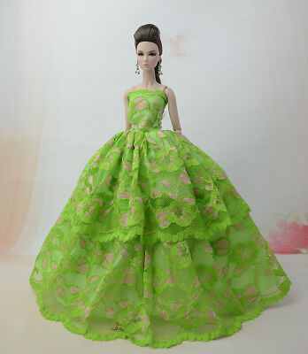 Doll S364 Fashion Princess Party Dress//Evening Clothes//Gown For 11 in