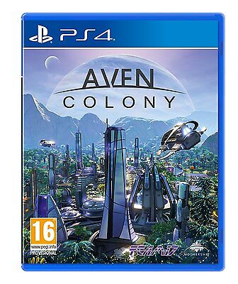 Aven Colony (PS4) BRAND NEW SEALED PLAYSTATION 4