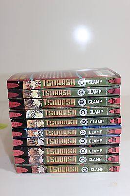 lot of 10 TSUBASA Reservoir Chronicle English Manga book series set