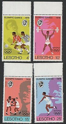 Lesotho stamps. 1976 Olympic Games - Montreal, Canada. Set 1. MNH