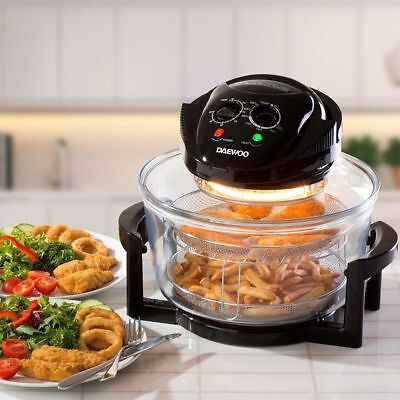 Daewoo Halogen Air Fryer Low Fat Oven with 12L Capacity BRAND NEW