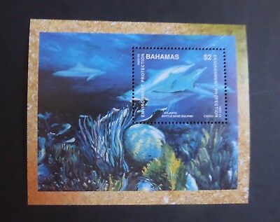 Bahamas 1999 Environmental Protection MS MS1197 dolphin UM MNH unmounted mint