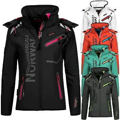 Geographical Norway Damen Softshelljacke Jacke Übergangsjacke Romantic/Reveuse