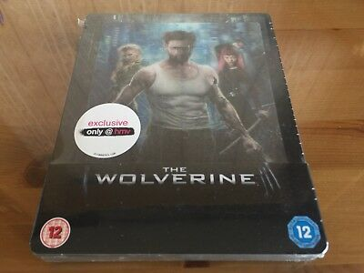 THE WOLVERINE HMV Exclusive Limited Edition Blu-Ray Steelbook *BRAND NEW*