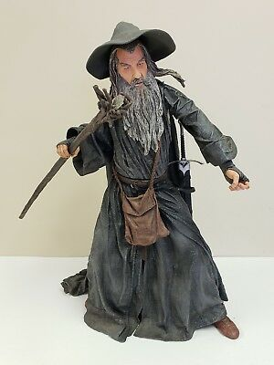 """Lord of the Rings Gandalf the Grey 20"""" Talking Figure NECA LOTR"""
