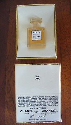 Coco Mademoiselle Chanel Parfum for women 1.5ml MINI MINIATURE PERFUME   Boxed