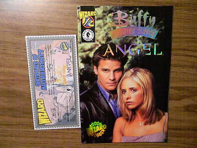 1 BUFFY THE VAMPIRE SLAYER & ANGEL Wizard 1/2 SPECIAL EDITION / Dark Horse BONUS