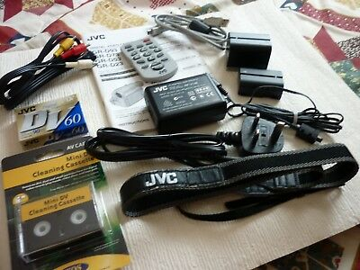 JVC ( Camcorder Accessories Job lot)