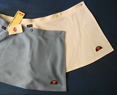 SKIRT TENNIS double woman vintage 80's ELLESSE tg.50-L Made in Italy new   RARE