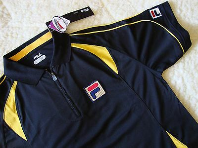 POLO T-SHIRT stile vintage 80's  FILA  era Borg TG.M New! RARE