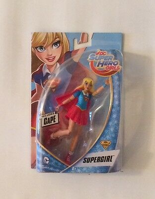 "NIB DC Super Hero Girls Supergirl Super Girl 6"" Action Figure"