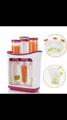 Baby Food Maker Packet Squeeze Packets