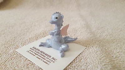Hagen Renaker Blue Dragon with Wings Figurine Miniature New Free Shipping 00892