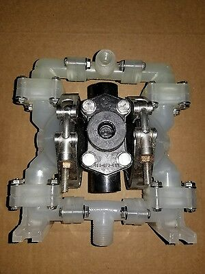 "Sandpiper PB1/4.VT3PP Air Operated Double Diaphragm Pump 1/4"" or 1/2 NPT 100PSI"
