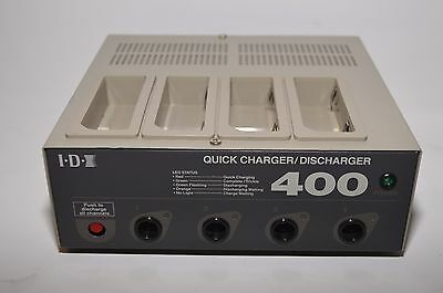 IDX i400 4 Channel Battery Charger/Discharger for NP and BP batteries