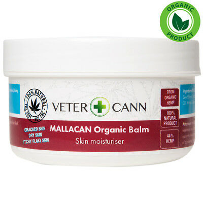Vetercann Hemp Care for Pets Mallacann Organic Hemp Balm - Dry Irritated Skin
