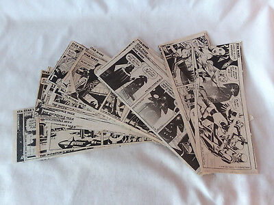 Lot of 42 vintage 1979 Star Wars newspaper daily Comic Strips