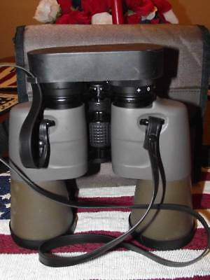 Bell & Howell Binoculars 10x50 Extra Wide Angle 393 Feet @ 1000 Yds, Case, Caps