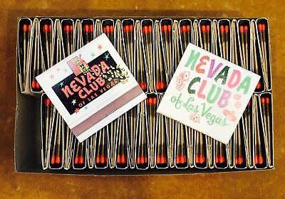 Nevada Club Matches, Boxed Set Of 50
