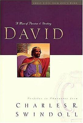 Great Lives: David (Great Lives from Gods W... by Swindoll, Charles R. Paperback