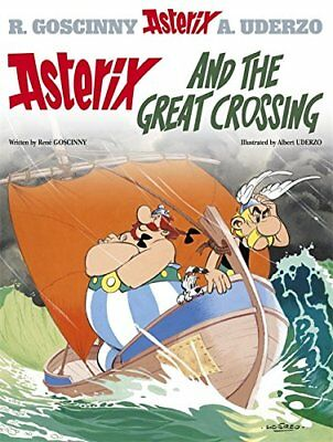 Asterix and the Great Crossing: Album 22 by Albert Uderzo Hardback Book The
