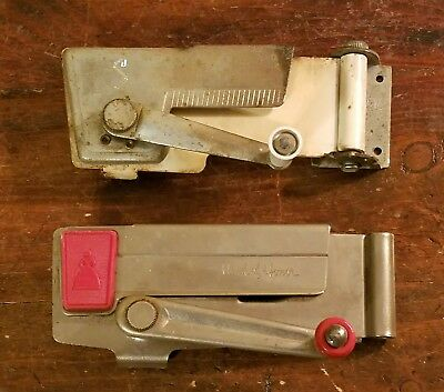 Lot Vintage SWING-A-WAY,MAID OF HONOR CAN OPENER w/ Bracket Wall Mount,Red Retro