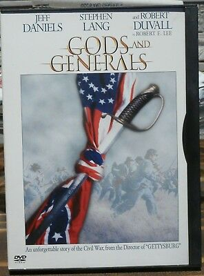 Gods and Generals by Jeffrey M. Shaara DVD