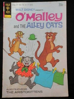 Walt Disney Presents O'malley And The Alley Cats #7 Gold Key 20C July 1973 Comic