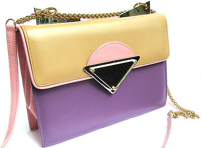 2bbf180324c SARA BATTAGLIA ITALY Multi-colored leather Purse Handbag -  150.00    PicClick