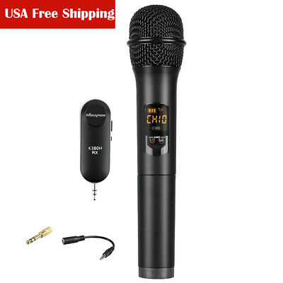 Professional Handheld Wireless Microphone Speaker Mic System For Church Home