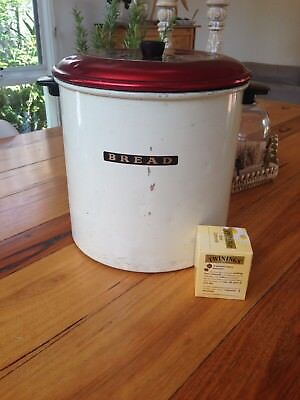 Vintage Bread Tin , Large