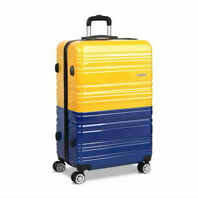 Wanderlite Luggage Suitcase Trolley TSA Travel Hard Case Lightweight PC Yellow