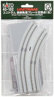 Kato N Scale Unitram/Unitrack Right Curved Street Track From japan