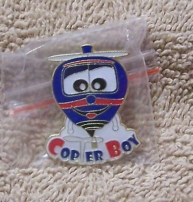 Copter Boy 107 Of 600 Balloon Pin