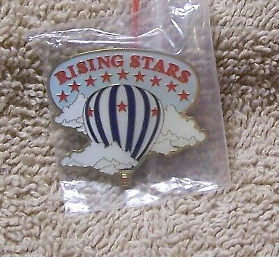 Rising Stars Balloon Pin