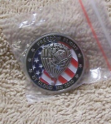 2010 Freedom Flight St Cloud Mn Pow Mia You Are Not Forgotten Balloon Pin