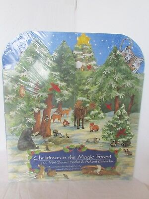 1999 National Wildlife Federation Christmas In The Magic Forest Advent Calendar