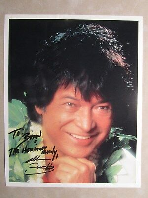 8x10 photo hand signed & inscribed by entertainer DON HO