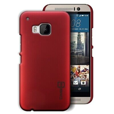 Scarlet Red Hard Case for HTC One M9 - Slim Fit Matte Back Phone Cover