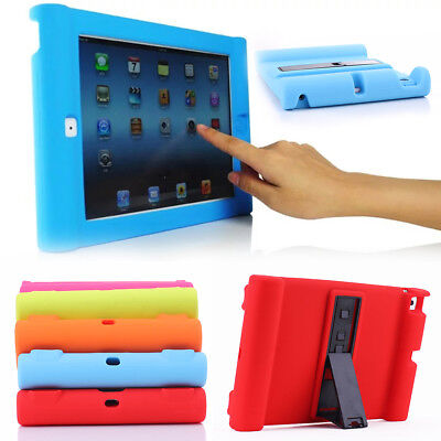Silicon Kids Shockproof Cover Case For Apple iPad 2 3 4 5 Air Mini Expand Volume
